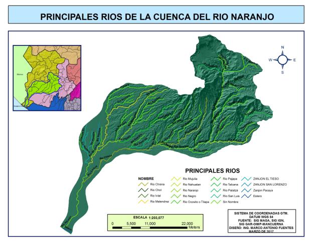 Rios El Naranjo